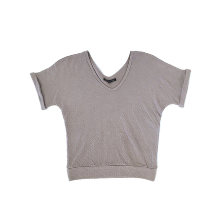 Curator Ruby Top - Taupe
