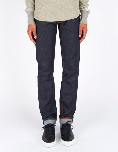 Men's Nudie Steady Eddie Dry Twill Navy