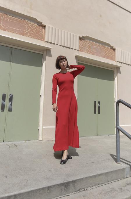 Delfina Balda Nova Dress in Red