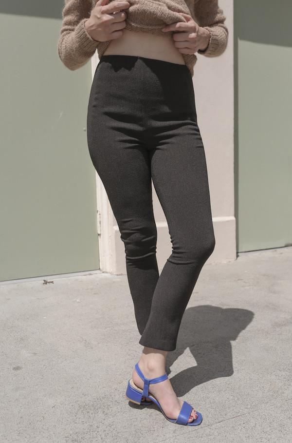 A Détacher Patches Legging in Onyx