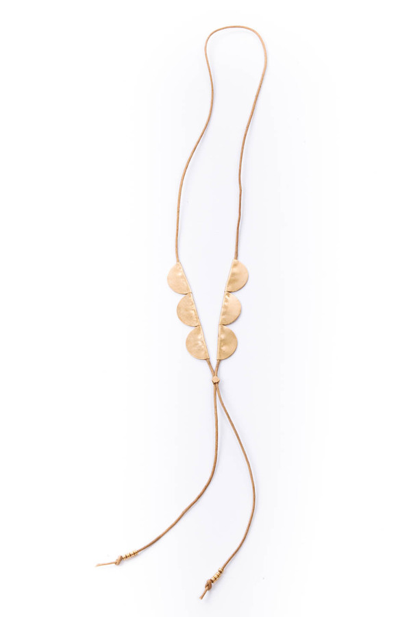 Pine Necklace (Tan)