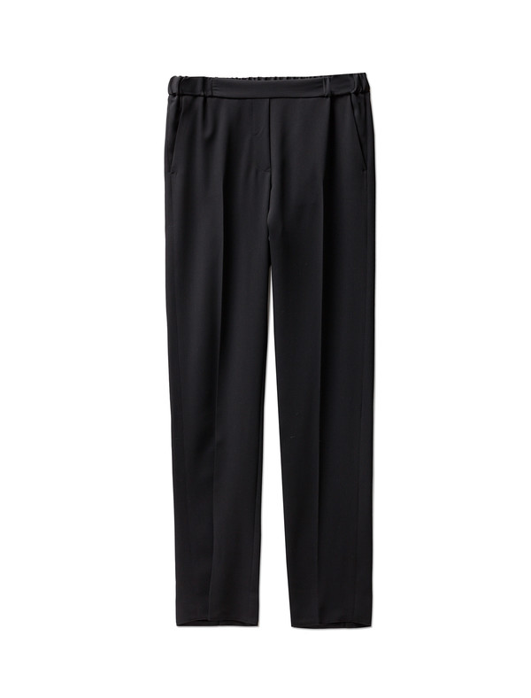 MM6 by Maison Margiela Womens Fluid Classic Trousers Black