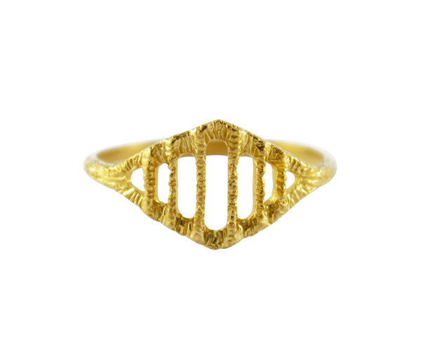Stefanie Sheehan Arcade Ring (Brass)