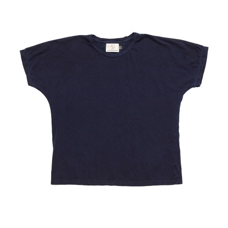 Olderbrother Hand Me Down - Anti-fit Tee - Dark Indigo