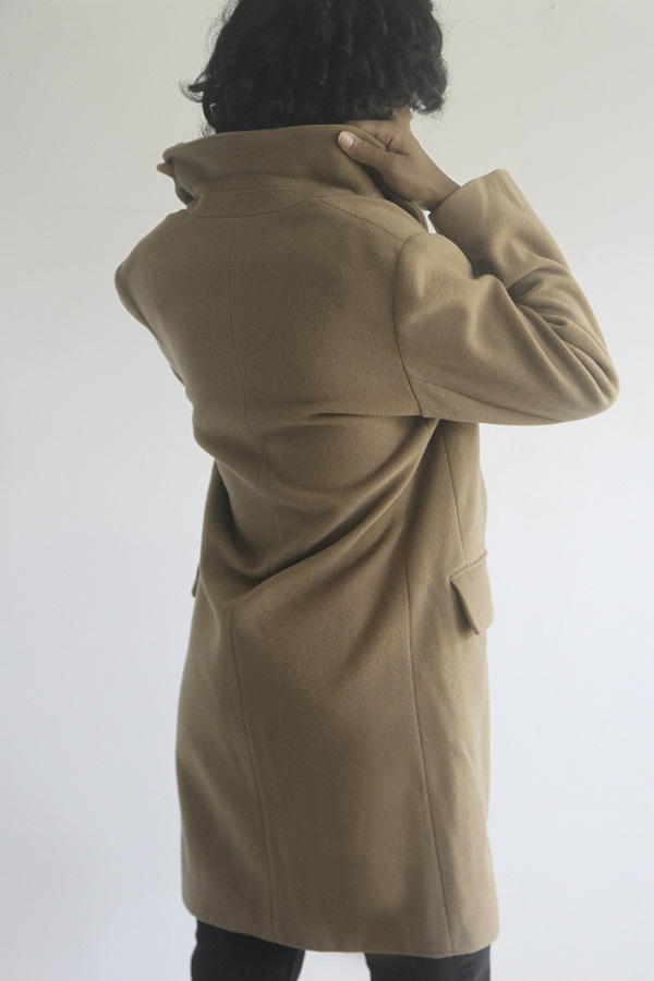 Rawson Vintage Camel Coat with Three Buttons