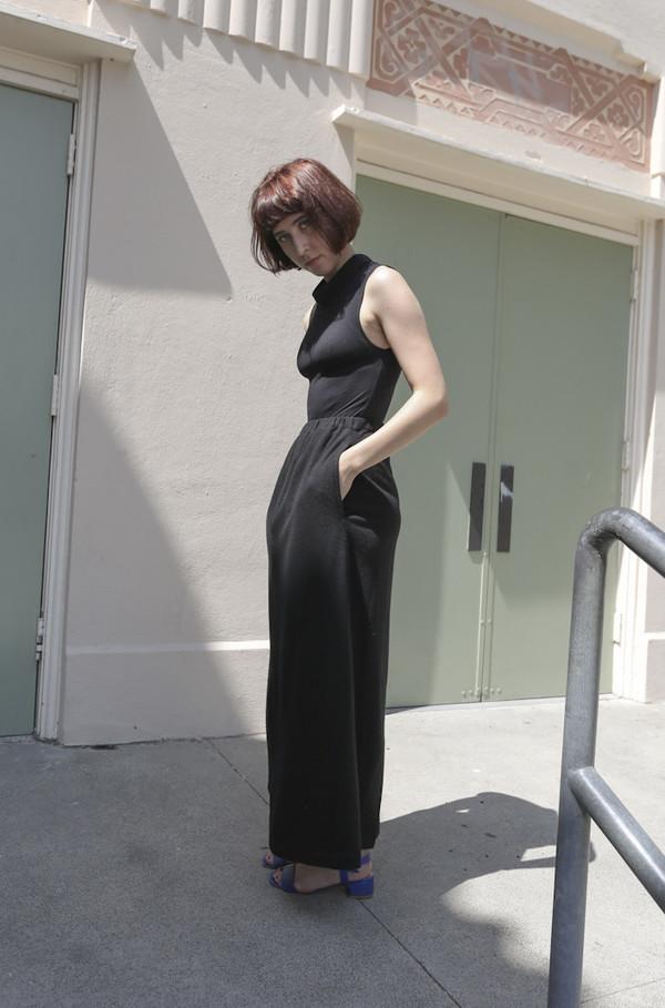 NONNA Vintage Eskandar Cashmere Jersey Long Skirt