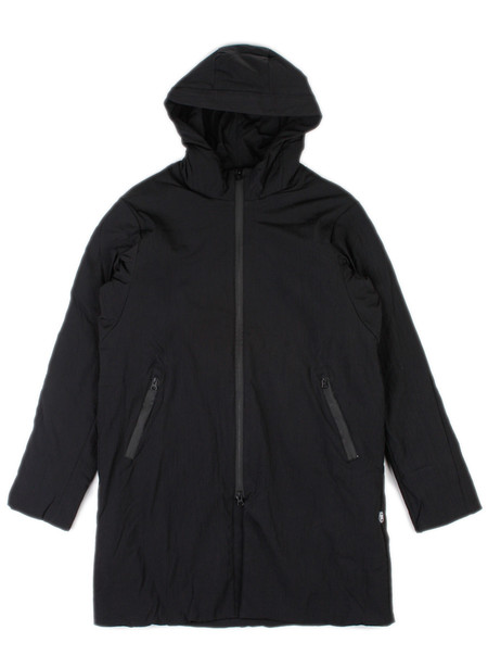 Men's Reigning Champ Sideline Jacket Insulated Stretch Nylon Black