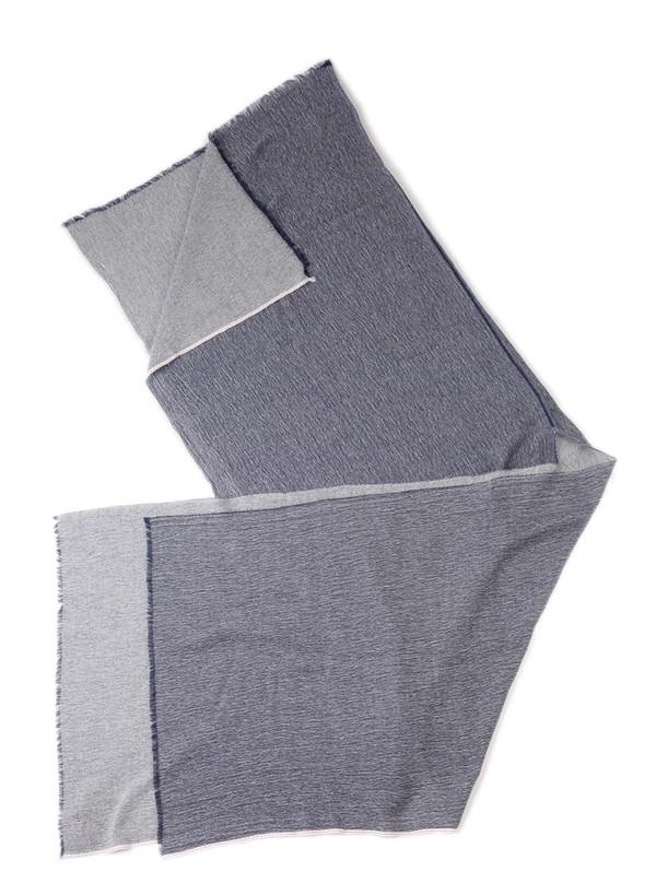 Blue Blue Japan Unisex Woven Selvedge Wool/Cotton Kappa Stole