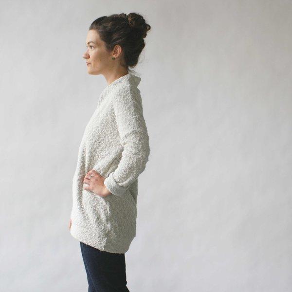 Make It Good Pebble Knit Tunic in Cream