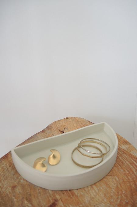Rachel Saunders Ceramics | Half Moon Tray