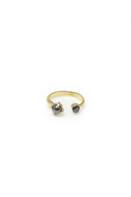 Wolf Circus Cash Spinel Ring | Gold