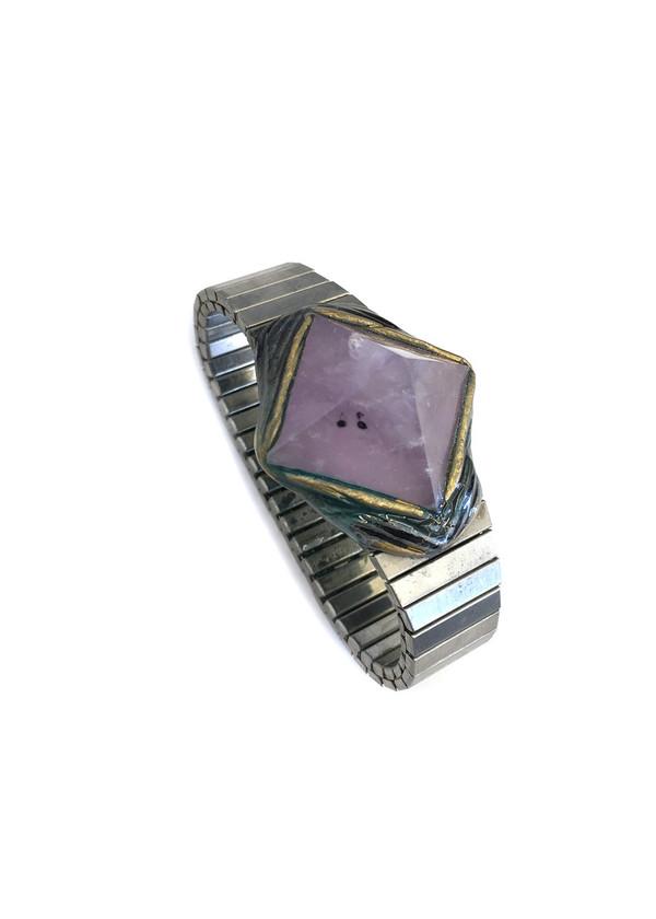 Adina Mills Time to Rock Lilac Quartz Bracelet