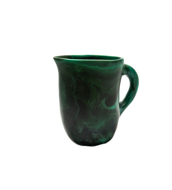 Dinosaur Designs Large Rock Jug in Emerald Swirl