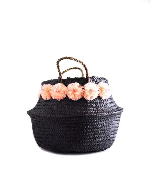 Eliza Gran Black Venice Basket