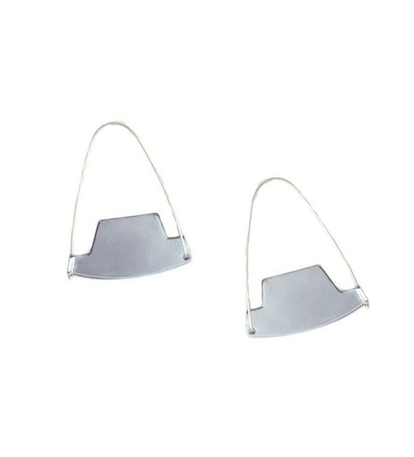 Erin Considine Arch Hoops in Sterling Silver