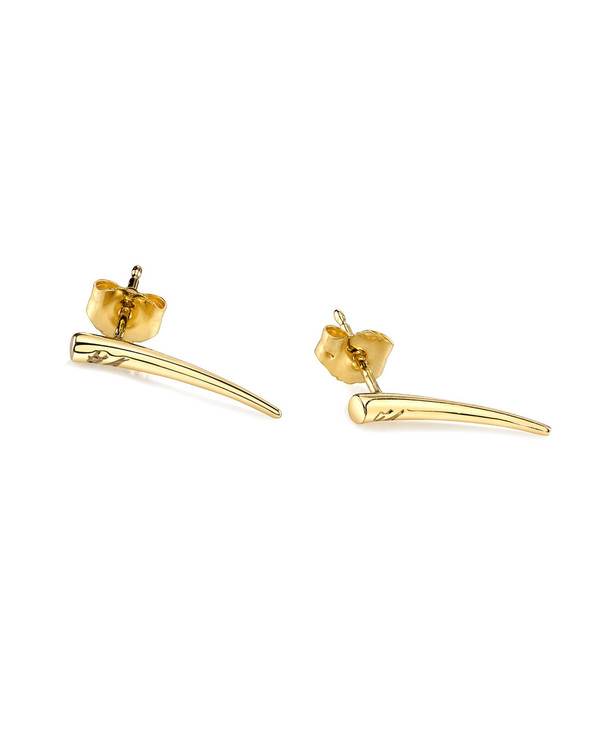 Gabriela Artigas Tusk Drop Down Earrings in 14K Gold