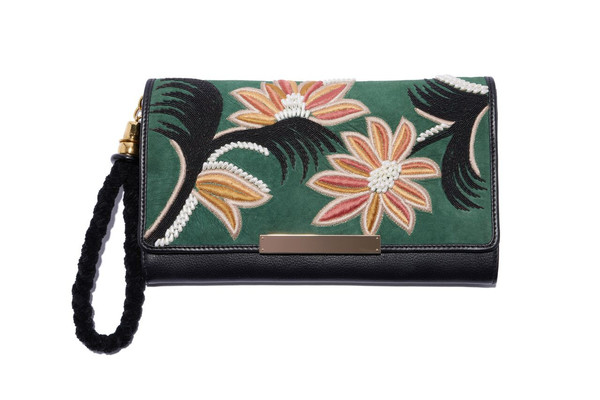 Lizzie Fortunato Opera Clutch in Lily