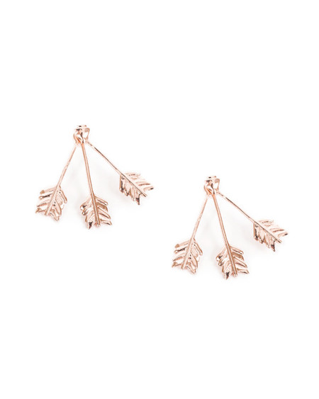 Pamela Love Triple Arrow Ear Jacket in Rose Gold