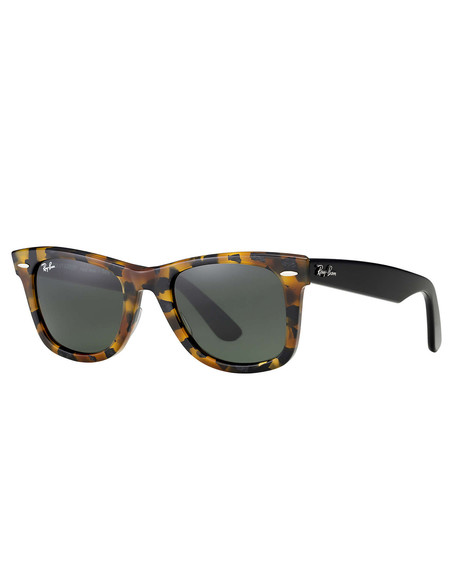 Ray-Ban Wayfarer Sunglasses Spotted Black Havana