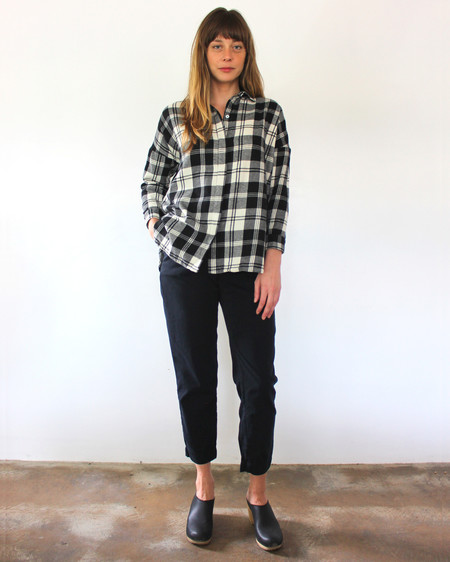 Esby STELLA L/S BUTTON DOWN - PLAID