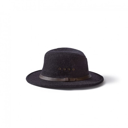 Filson Charcoal Wool Packer Hat