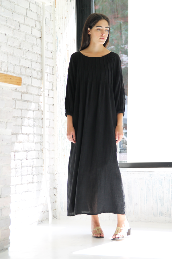 DUO NYC Vintage Cotton Gauze Dress