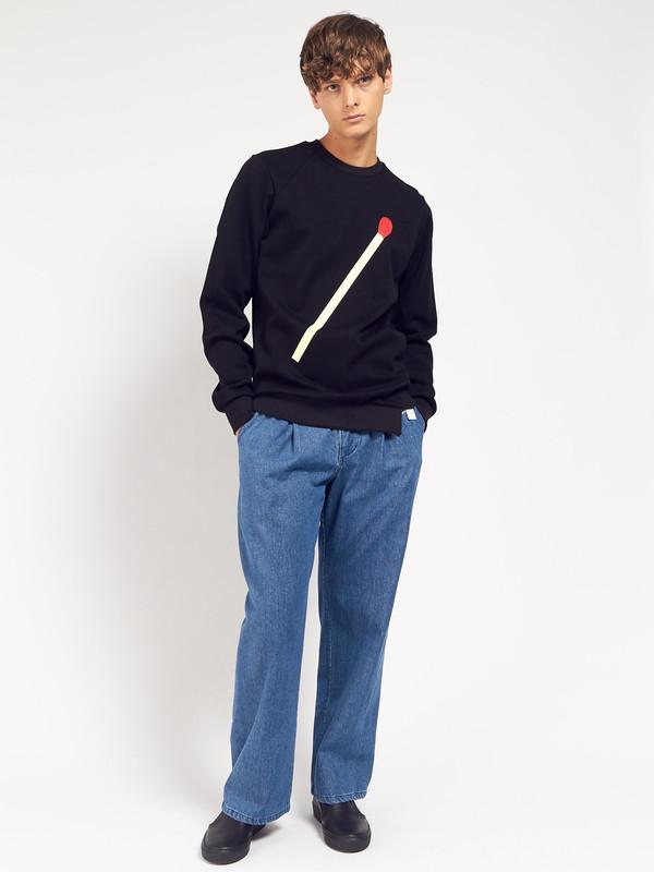 Men's Drink Beer Save Water Matchstick Sweatshirt