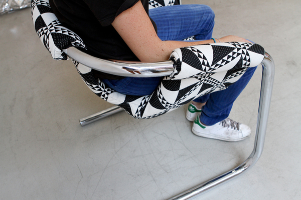 1970s Italian Cantilever Chair