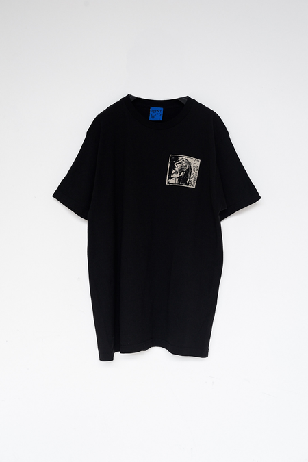 Men's Silent Sound Cotton Crying Face T-Shirt