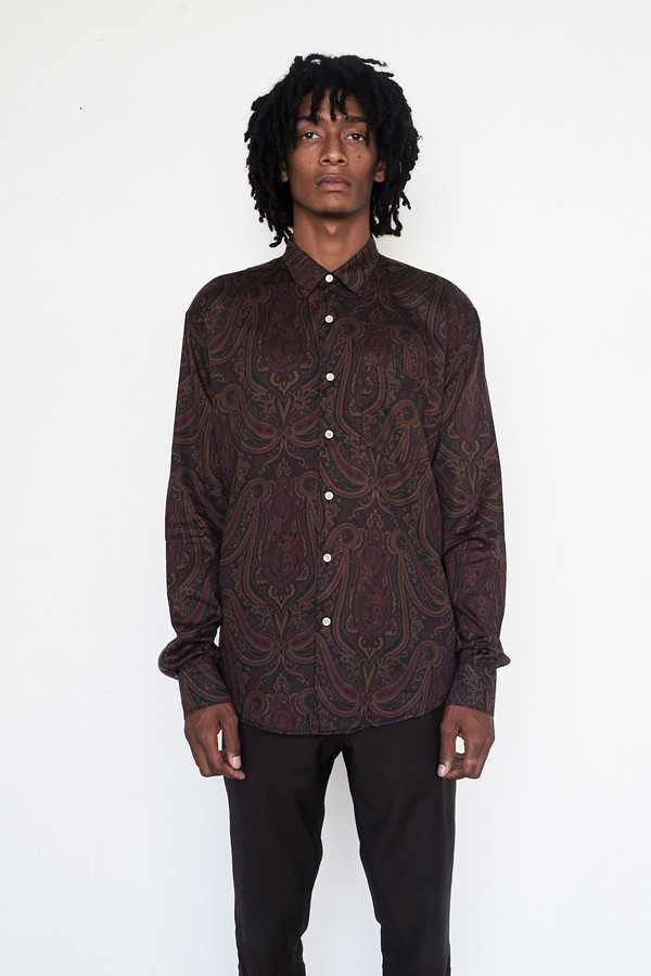 Men's Our Legacy Cotton Initial Shirt