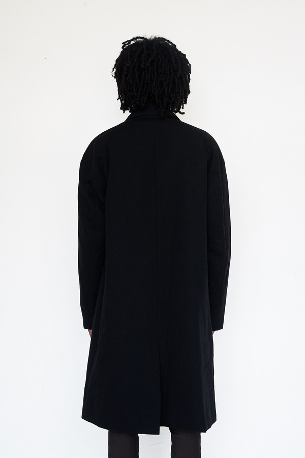 Men's Robert Geller Wool DB Coat