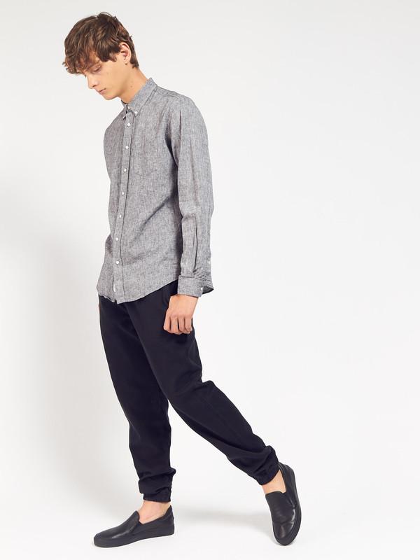 Men's Schnayderman Leisure Linen Shirt