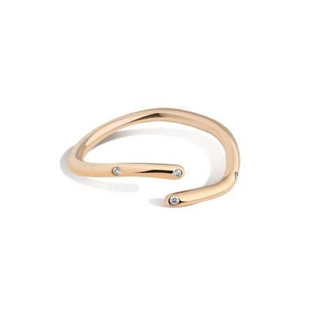 Shahla Karimi 14K Gold Subway Fine Ring - Central Park to City Hall