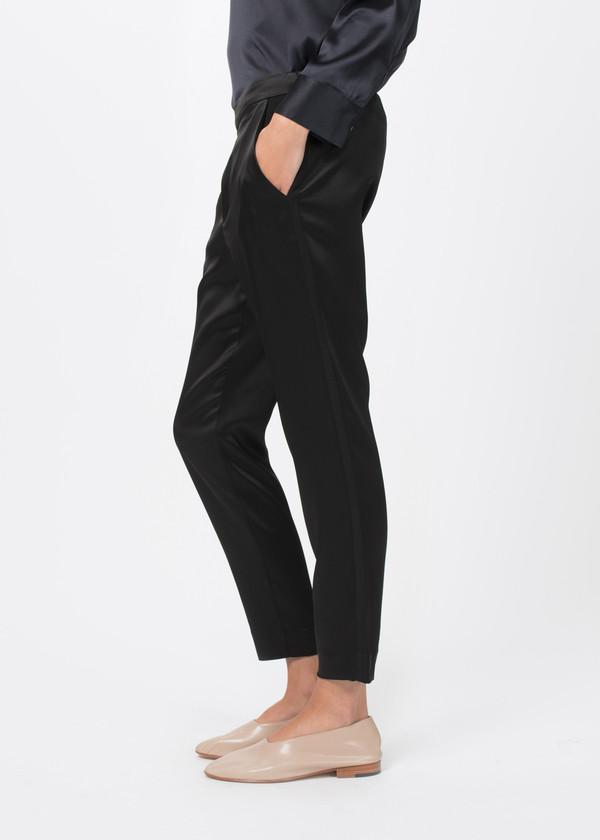 Sibel Saral Shiny Pullup Tuxedo Pant