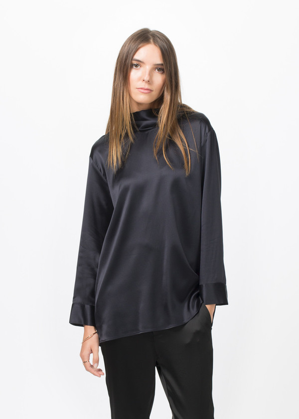 Sibel Saral Silk Luxor Turtleneck