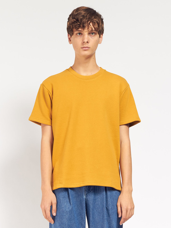 Men's Fanmail SS Sweat - Arrowwood Yellow