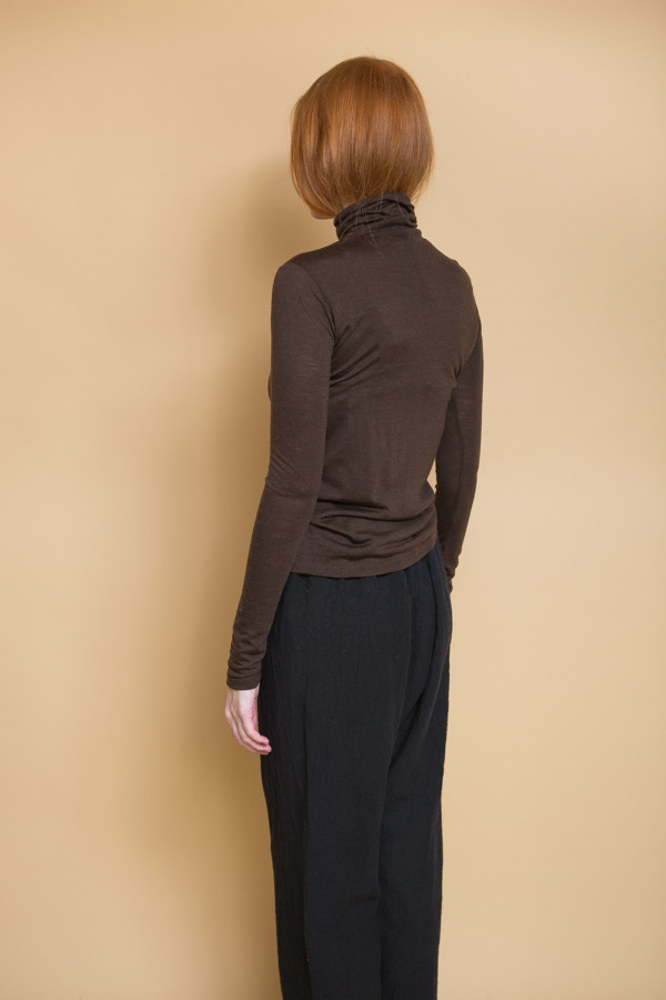 Just Female Violet Rollneck Top