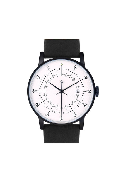 Men's Squarestreet SQ38 Plano Watch Black
