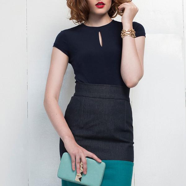Hericher Adele Top Black