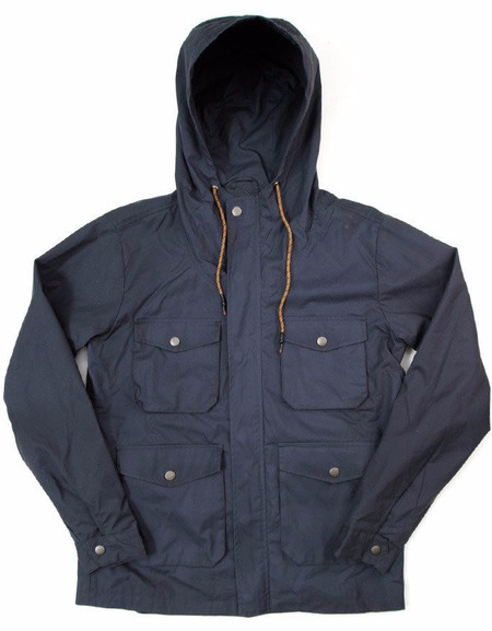 Men's Bridge & Burn Fraser Waxed Rain Jacket