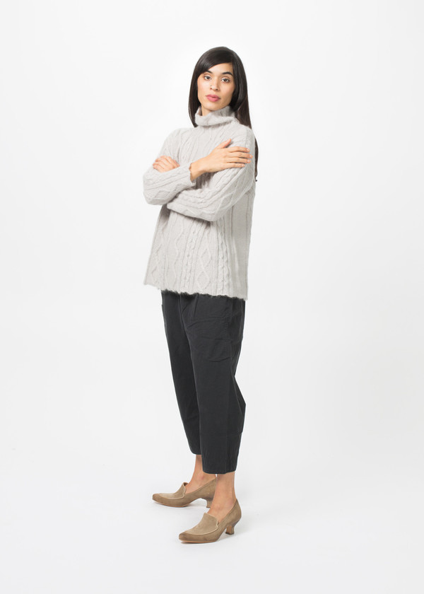 Manuelle Guibal Aran Knit Sweater