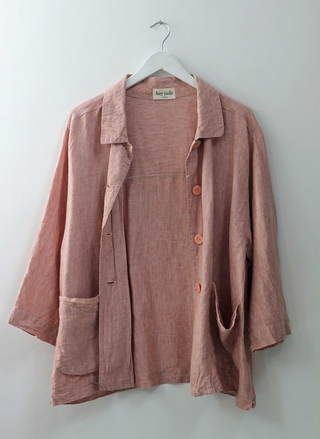Hey Jude Vintage Dusty Rose Service Jacket