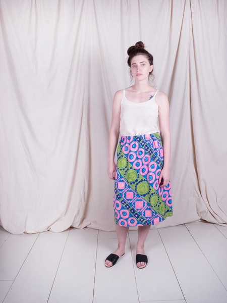 Woods Vintage Hand Painted skirt