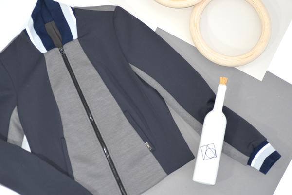 VPL Capulet Zip Jacket: Charcoal