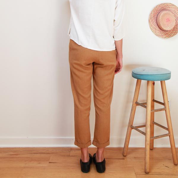 Me & Arrow Cuff Pants Apple Cinnamon