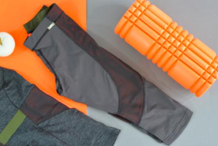 VPL Flexure Capri: Charcoal X Caution Orange