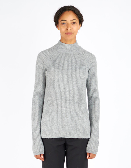 Just Female Sky Knit Grey Melange