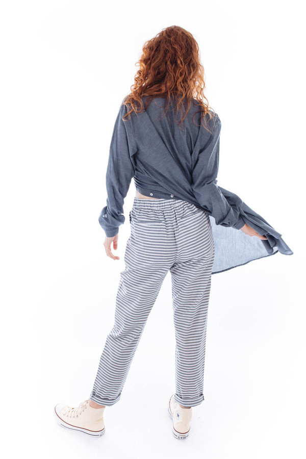 Kowtow Getaway Pant (Sea Stripe)