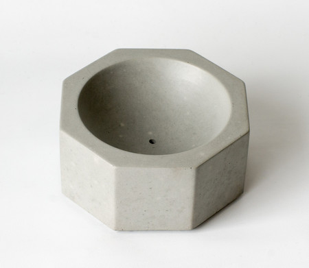 Concrete Cat Incense Burner
