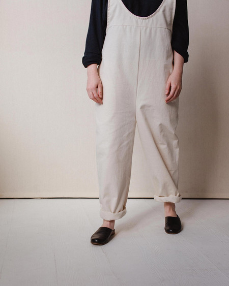 Open Air Museum Ballard Jumpsuit Cream